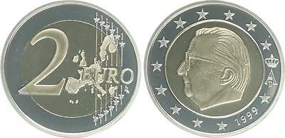 Belgium Currency Coin 1999 Proof in Coin Capsule