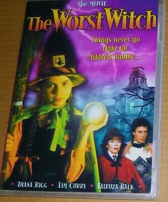 The Worst Witch DVD Region 1 (USA) Diana Rigg Charlotte Rae Tim Curry Sealed