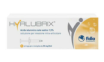 Siringa Intra-Articolare Hyalubrix Acido Ialuronico 1,5% 30 Mg 2 Ml