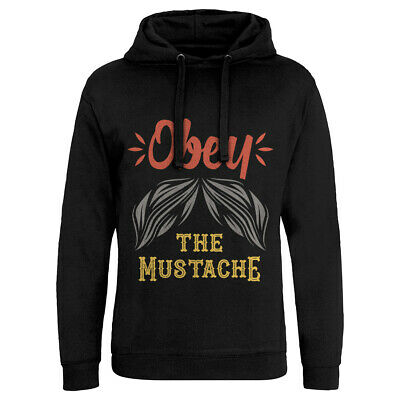 Obey The Mustache Barber Sweatshirt Hipster Shop Beard Barbershop Groom Sha C802