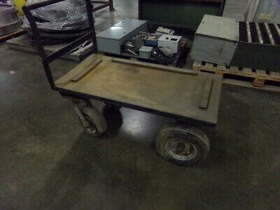 """HD Utility Cart - Metal Frame with Rubber Tires / 48"""" X 24"""""""