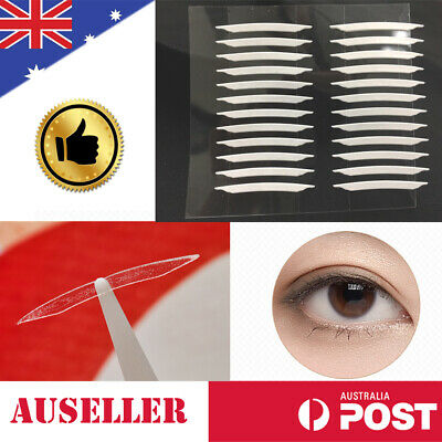60 Pair Double Eyelid Adhesive Sticker Tape Invisible Fiber Waterproof Eye Tapes