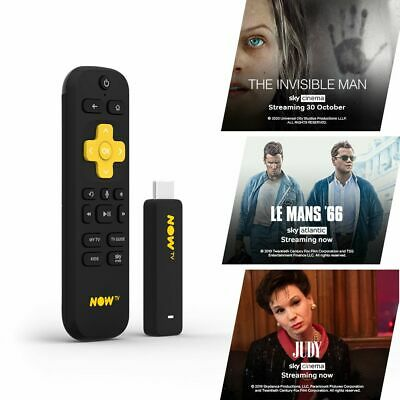 NOW TV Smart Stick with 1 month Sky Cinema Pass PRE-INSTALLED