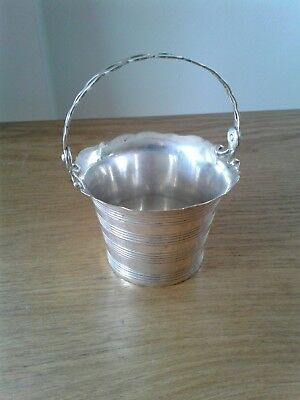 Antique George 111 Solid Silver Cream Pail London 1753