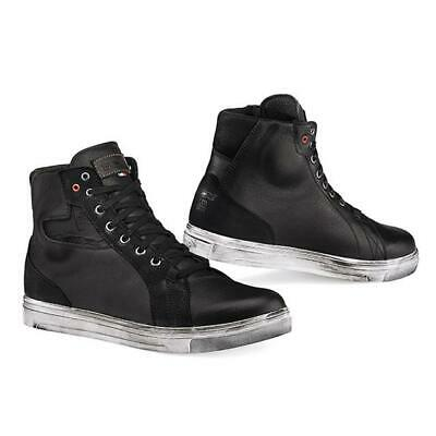 Shoes Motorcycle Scooter TCX Street Ace Wp Suede Black TG.39 Waterproof