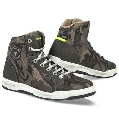 Shoes Boots Motorcycle Unisex Fabric Stylmartin Raptor Camouflage