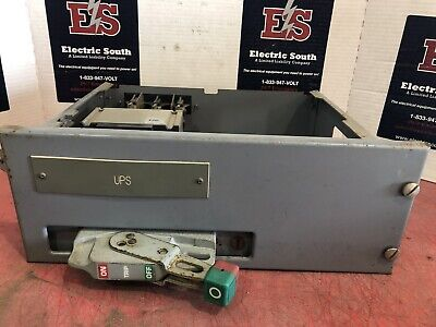 "Square D Model 6 6"" Feeder Bucket GJL36060 60 Amp 480 Volt 3 Pole W/ Door"