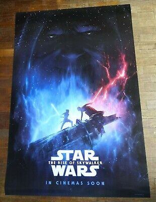 Star Wars THE RISE OF SKYWALKER 2019 Orig 27x40 Double Sided INTL Movie Poster