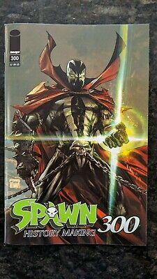 SPAWN #300    TODD MCFARLANE  FIRST PRINT    GREG CAPULLO    Image Comics     NM