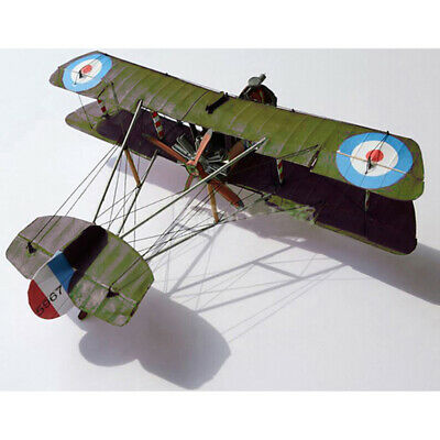 1:33 Scale WWI Airco DH.2 British Single-seat Biplane Aircraft Paper Model K ZF