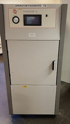 LTE Scientific Touchclave R Lab Laboratory Autoclave