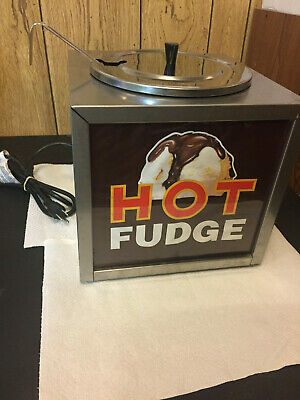 Gold Medal 2200 - Stainless Steel Dipper Style Hot Fudge Warmer