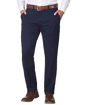 Tommy Hilfiger Men's Tailored Fit Stretch Chino Pants.