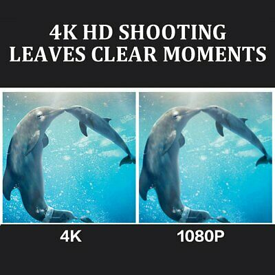Ultra HD 4K Sport Action Camera WIFI 1080P 12MP+ 170 Degree Angle Waterproof SY