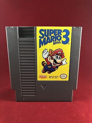 Authentic NES Nintendo Super Mario Bros 3, Tested, Collector's Condition