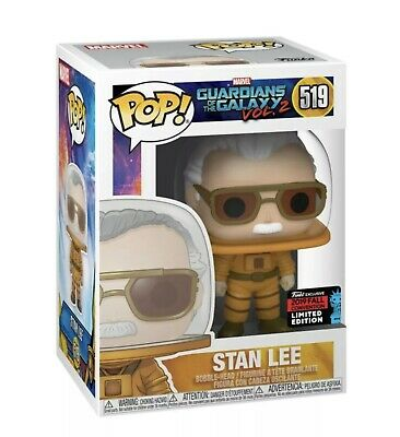 Funko Pop Astronaut Stan Lee 2019 NYCC Fall Shared Exclusive NEW PREORDER