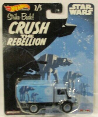 2019 Hot Wheels Pop Culture Star Wars 88' Mercedes Unimog U1300 The Rebellion