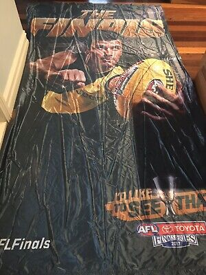 RARE AFL 2017 Finals Series MCG HUGE Display Banner Richmond Trent Cotchin