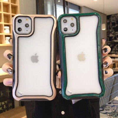 For iPhone 11 Pro Max XS XR X 8 7 Plus 6s Shockproof Bumper Hybrid Hard Case
