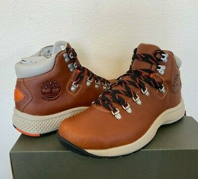 TIMBERLAND MENS FLYROAM 1978 Aerocore Hiker Boots Tan Brown