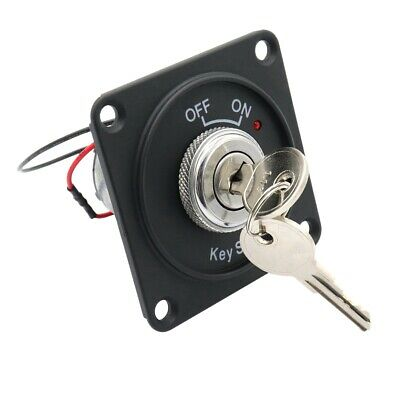 2X(Universal 12V Car Boat Motorcycle Ignition Starter Key Ignition Switch R8X6)