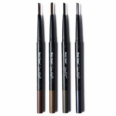 3X(Music Flower Double headed automatic makeup does not blooming eyeliner Y4S7)