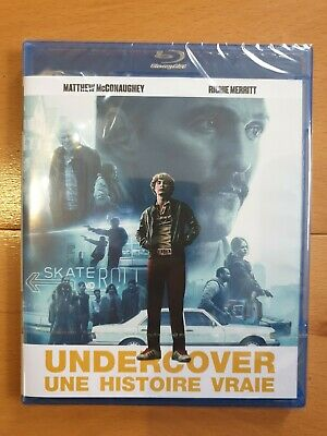 Blu ray - Undercover Une histoire vraie - neuf sous blister