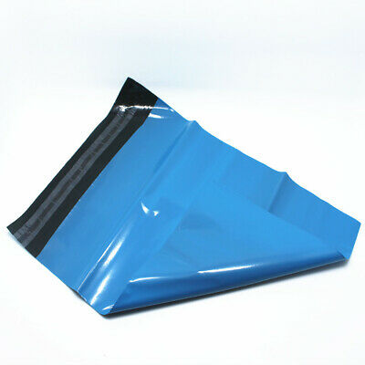 Blue Plastic Self Sealing Tearproof Mailing Bag Poly Envelope Shipping Mailers