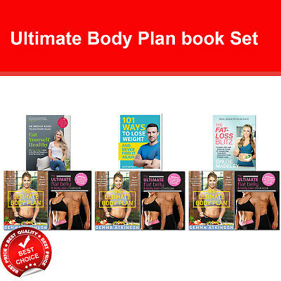Ultimate Body Plan books set Eat Yourself Healthy, Fat-loss Blitz, The Body Book