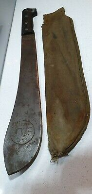 Ww2 Vintage Machete Hand Forged Bolo Japan In Original Found Condition