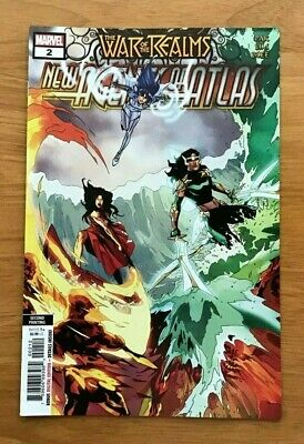 War Of Realms New Agents Of Atlas #2 (Of 4) 2Nd Ptg Lim,Gang Hyu Var Marvel Nm