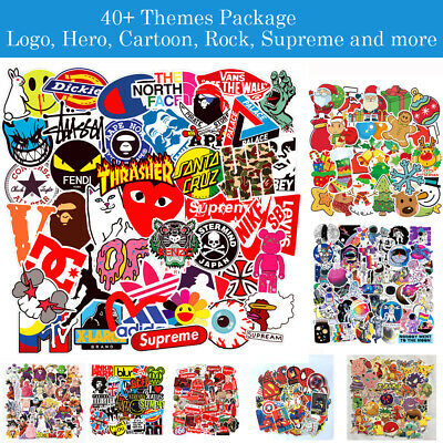 Cool Package Skateboard Brand Logo Vinyl Sticker Phone Luggage Car Bomb Decal