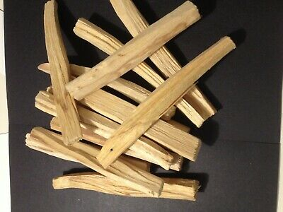 Bargain 50gr ODD sizes🙃 PALO SANTO HOLY WOOD ORGANIC 🌕INCENSE/SMUDGE STICKS