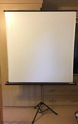 Reflecta Lux Projector Screen Home Cinema Office Portable Tripod Freestanding