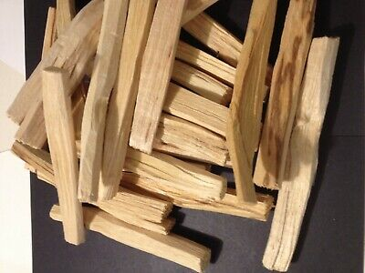 Bargain 100gr ODD sizes🙃PALO SANTO HOLY WOOD ORGANIC🌕 INCENSE/SMUDGE STICKS