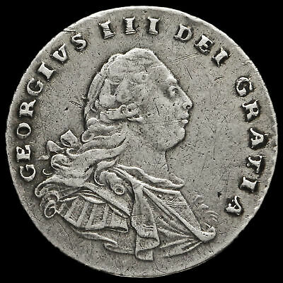 1792 George III Early Milled Silver Maundy Penny
