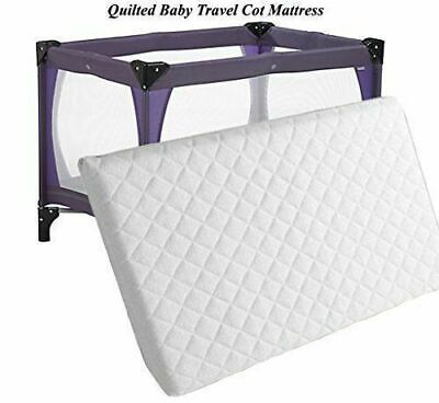 New Extra Thick Travel Cot Mattress For Grace Redkite And M&P 95 x 65 Made in UK