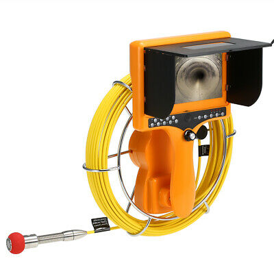 Drain Pipe Sewer Inspection Camera with DVR Function Distance Counter G4K6