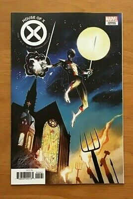 House of X 5 2019 Mike Huddleston 1:10 incentive Variant Cover Marvel Comics NM+