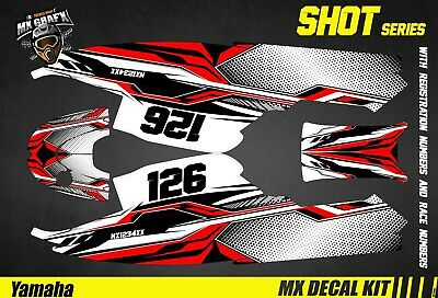 Kit Déco pour / Decal Kit for Jet SkiYamaha Super Jet - Shot Red