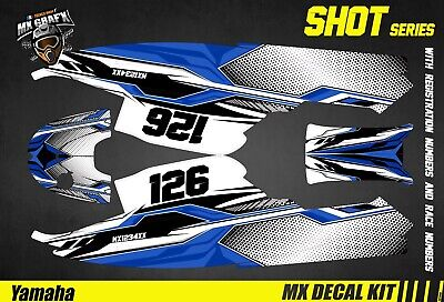 Kit Déco pour / Decal Kit for Jet SkiYamaha Super Jet - Shot Blue