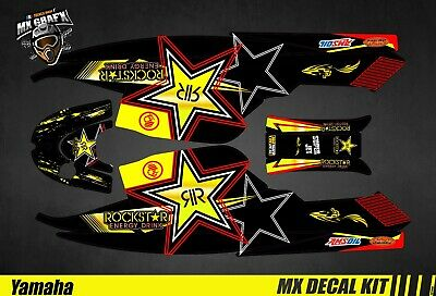 Kit Déco pour / Decal Kit for Jet SkiYamaha Super Jet - Rockstar
