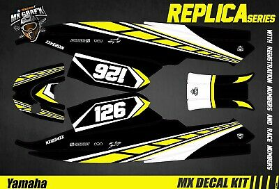 Kit Déco pour / Decal Kit for Jet SkiYamaha Super Jet - Yellow