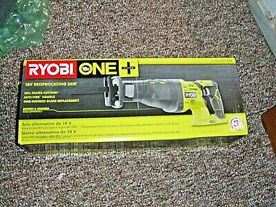 RYOBI P 516 18-Volt ONE+ Cordless Reciprocating Saw (BARE TOOL) NEW IN BOX