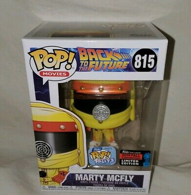 Back to the Future Marty Mcfly NYCC Funko Shop Exclusive Pop