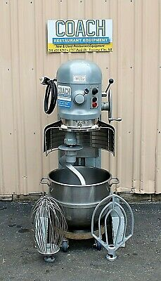 HOBART H600T 60 Quart Mixer With Bowl Guard & 3 Attachments ... on