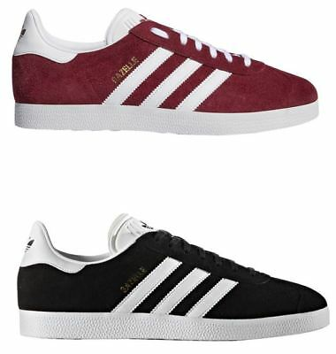 where can i buy the sale of shoes clearance sale CHAUSSURES HOMMES ADIDAS Gazelle Rouge Noir en Daim Baskets ...
