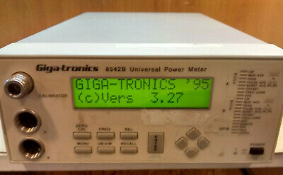 Giga-tronics 8542B Universal Power Meter, with Option 1, Version 3.27