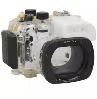 Polaroid SLR Waterproof Housing Case For The Canon G16 Digital Camera