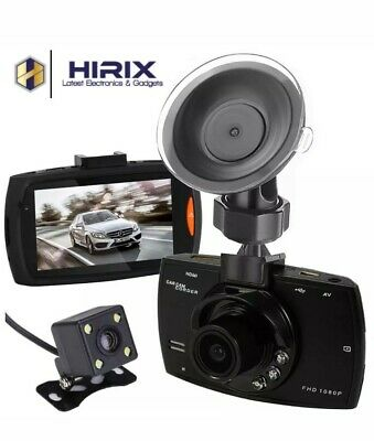 G30 Full HD Dual Front and Rear Dash Cam